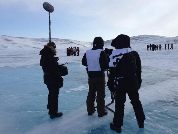 okpik's dream shooting in nunavik