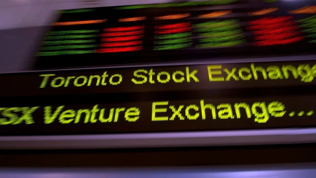 The main TSX index lost ground for the fifth straight day Thursday, with the surging gold sector saving the index from an even bigger loss. Gold gained more than $50 US an ounce.