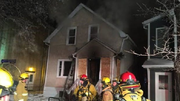 Crews were called to a fire at 1763 Toronto St. in Regina on Jan. 21, 2016. It's the second time this week crews have been called to this address.