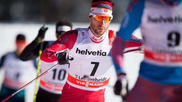 Canada's Alex Harvey, one of the country's top cross-country skiers, spends most of his winter competing in Europe, where the Canadian dollar doesn't go as far as it used to.