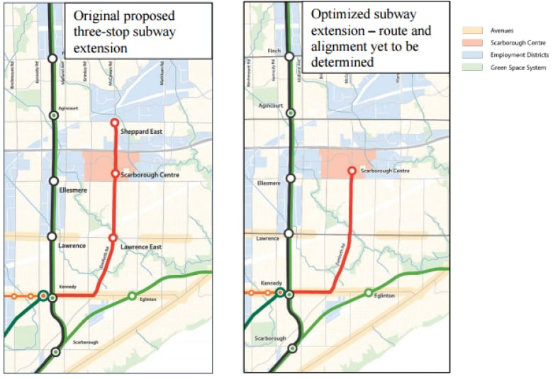 Bloor Danforth Subway Map.5 Announcements In 3 Days Your Week In Transit News Cbc News