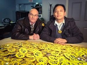 Gary Marshall and Joe Chan