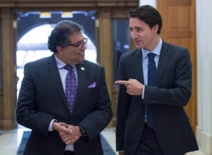 Nenshi and Trudeau