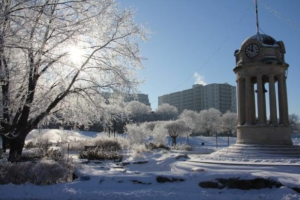 Victoria Park winter