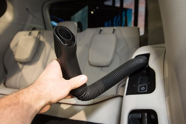 Optional vacuum in the Chrysler Pacifica