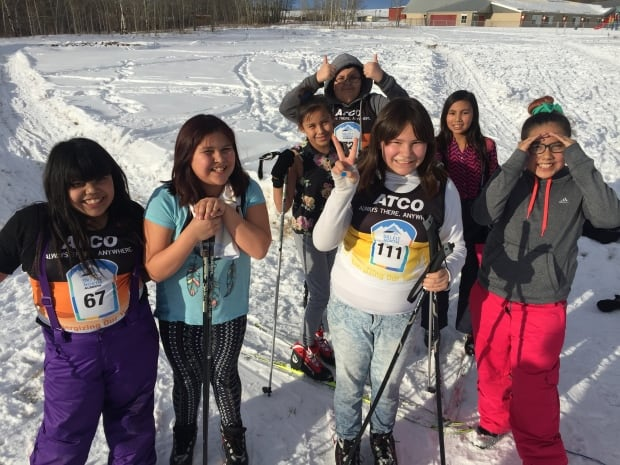 Tsuut'ina First Nation High School students