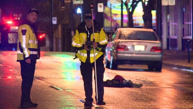Vancouver pedestrian struck