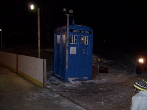 Mike Colp TARDIS