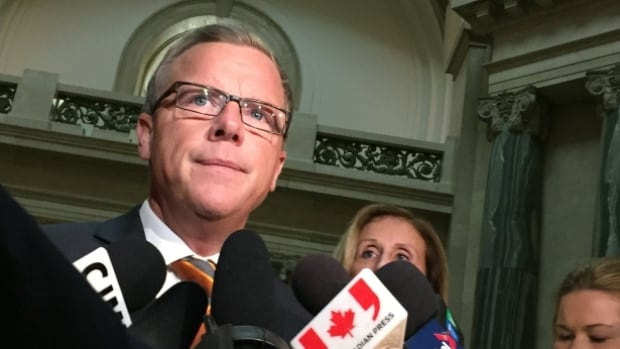 Premier Brad Wall is comfortably ahead in the polls, with an election little more than a month away.