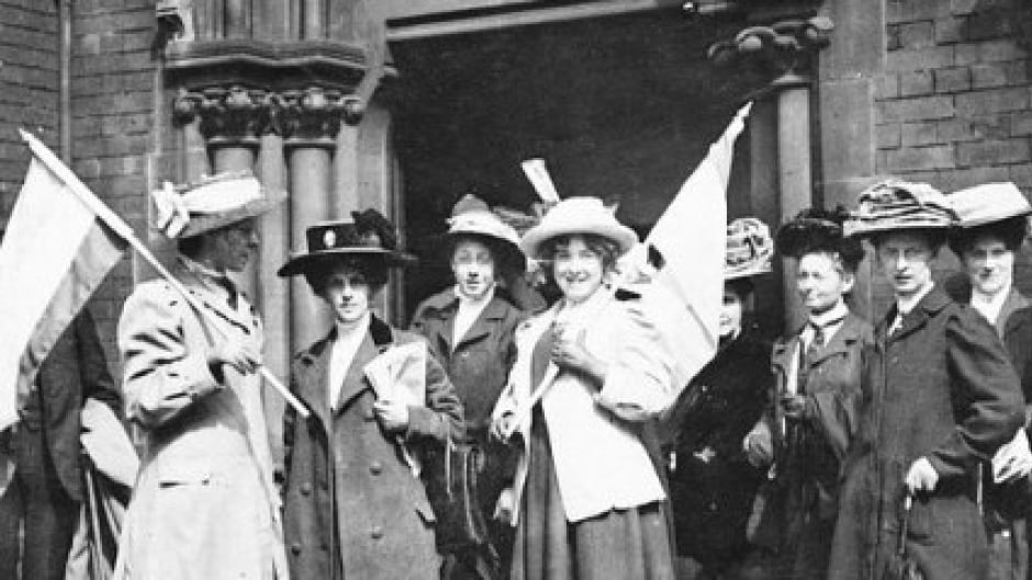 Manitoba marks 100-year anniversary of women's suffrage.