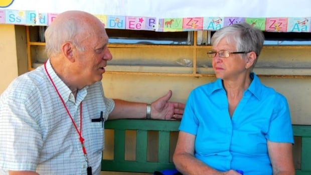 John and Naomi Hall of Watson Lake are volunteers with MEMO, a faith-based organization based in Thunder Bay, Ont.