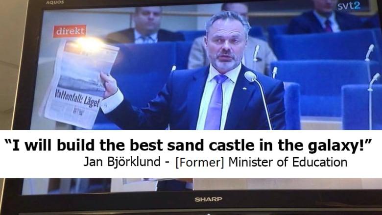 Swedish TV mixes up political debate with children's show subtitles