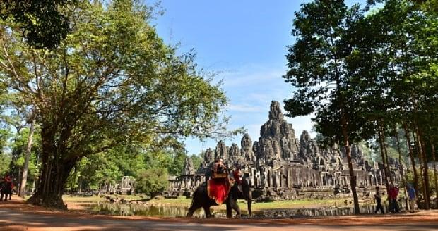 Cambodia Bayon Temple