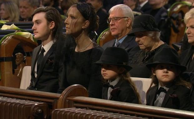 Céline Dion, René Angélil funeral