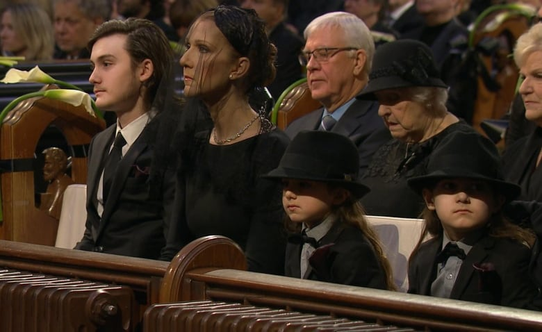 Ren Anglil remembered at national funeral in Montreal CBC News