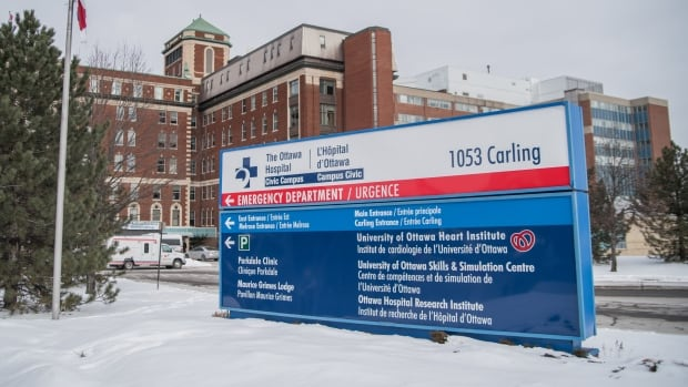 The Ottawa Hospital Civic campus on Carling Avenue has been set to move across the street to land belonging to the Experimental Farm.
