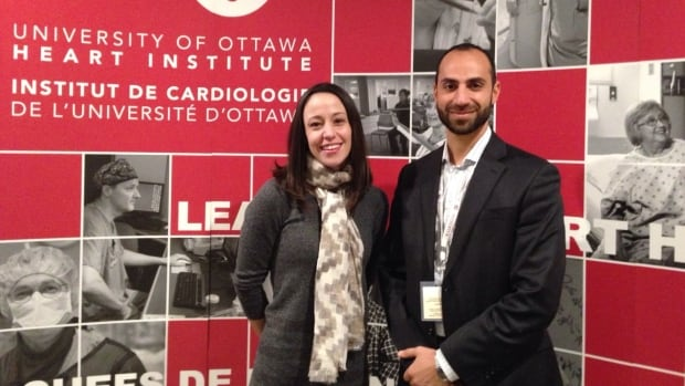 Kerri-Anne Mullen and Mustafa Coja shared details of the Ottawa Model at the eighth annual Ottawa Conference on Smoking Cessation at the Westin Hotel on Jan. 22, 2016.