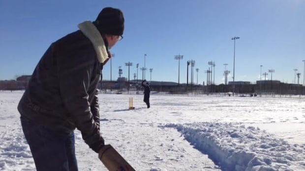 Angus Bell's format of cricket can be played in -45 C temperatures and on fields covered in snow.