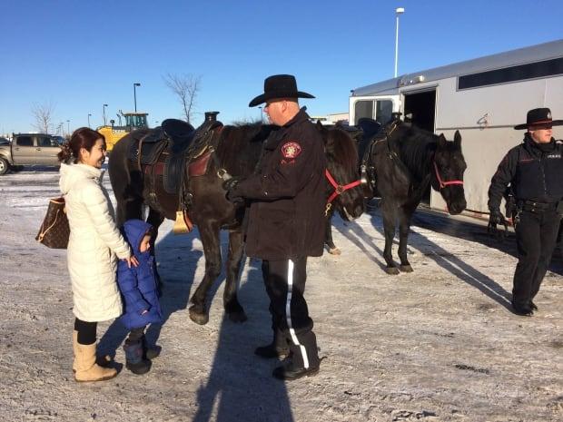 Calgary mounted patrol