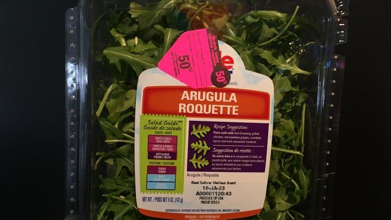 Recalled salad