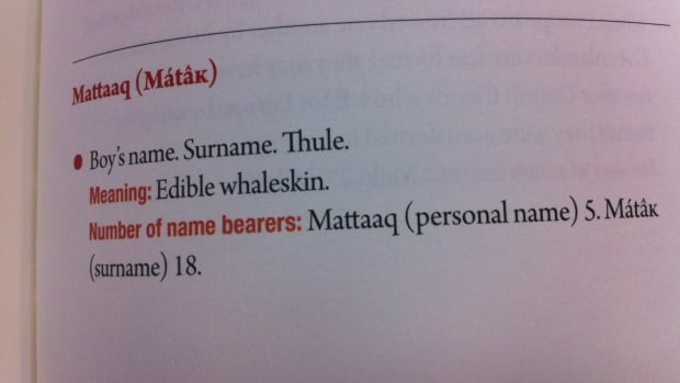 The meaning of the name Maataaq is explained in Kalaallit aqqi.