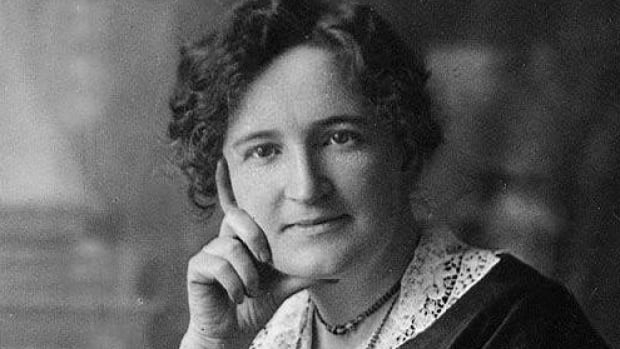 Nellie McClung helped women win the right to vote in Manitoba.