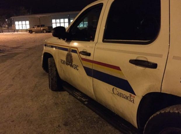Police presence in La Loche