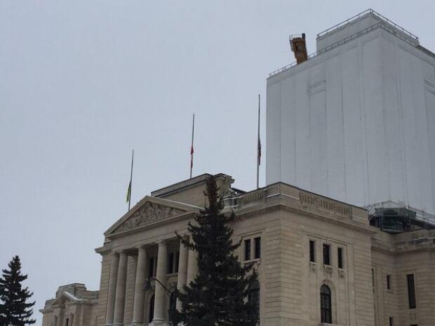 regina leg flags half mast la loche jan 24 2016