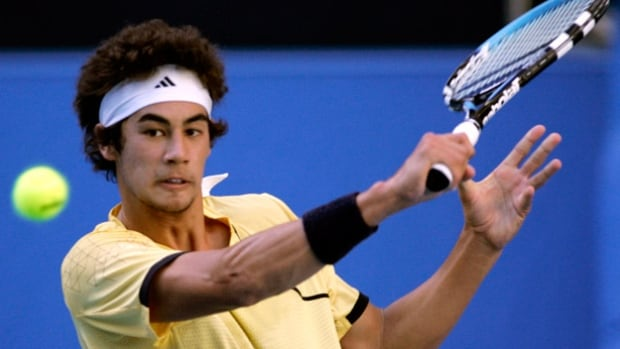 Australia's Nick Lindahl, seen here competing in 2008, pleaded guilty on Monday in Sydney to match-fixing while he was a world-ranked player.