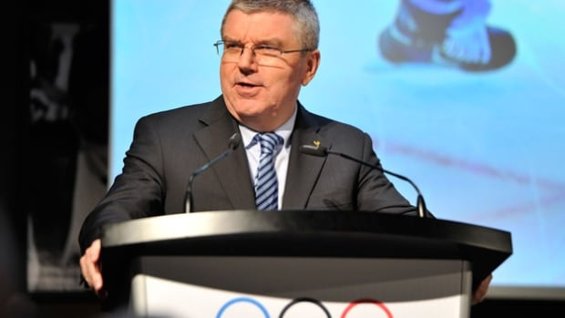 IOC president Thomas Bach said it was incomprehensible that Lamine Diack demanded money from athletes to cover up doping and that the IAAF has a 'rocky road' in an an attempt to clean up track and field.