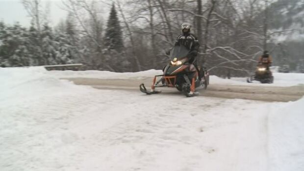 The two snowmobilers left their group of friends late Sunday night and never returned.