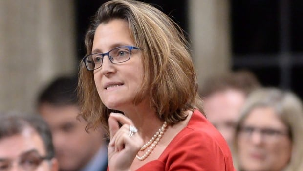 International Trade Minister Chrystia Freeland says Canada will sign on to the Trans-Pacific Partnership trade deal at a ceremony in New Zealand on Feb. 4. But as for ratifying the deal, Freeland said that will still be a matter for Parliament.