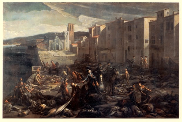 Marseilles during Great Plague of 1720