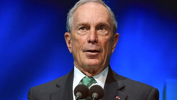 Former New York City mayor Michael Bloomberg says he won't be running for the U.S. presidency as an independent.