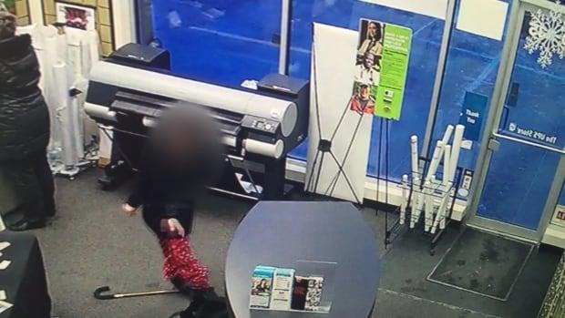 UPS Store woman seizure