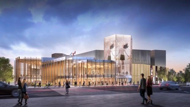 National Arts Centre Ottawa renewal rendering facade Jan 2016