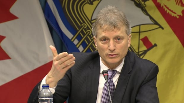 Treasury board president Roger Melanson, who is the minister responsible for trade policy, said New Brunswick has a 'free, open market' and 'level playing field' when it comes to softwood lumber.