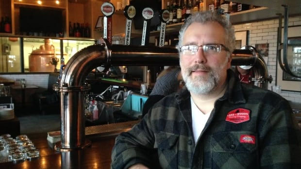 Taras Manzie, president and CEO of the Lake of the Woods Brewing Company, says recently-announced money from FedNor will go towards expanding canning operations.
