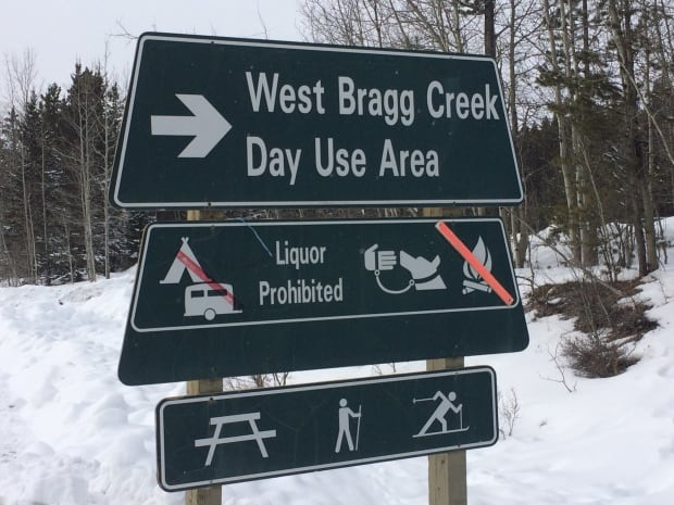 West Bragg Trailhead