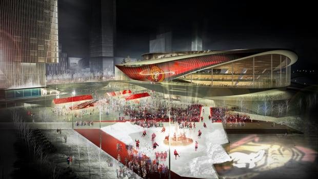 arena - RendezVous LeBreton Group - LeBreton Square, Major Event Centre