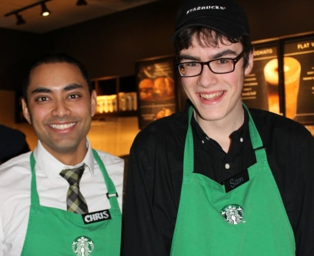 Toronto dancing Starbucks barista with autism