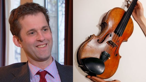 Amati Auctions' James Buchanan values rare musical instruments and is always on the lookout for a Stradivarius violin like this one, potentially worth millions of dollars.