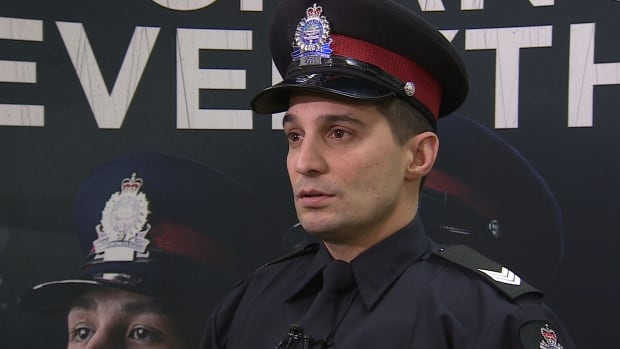 Acting Sgt. Terry Mishio with the EPS recruit selection unit says the department is looking for people from a wide variety of backgrounds to fill 160 new positions this year.