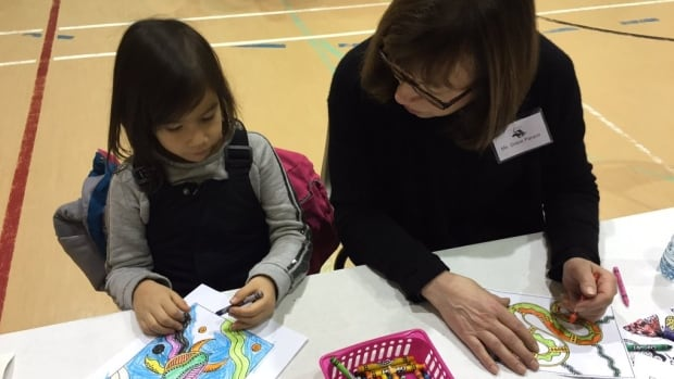 The Winnipeg School Division hosted an open house at Isaac Brock School in January for parents who were interested in registering their children in the new Ojibwa and Cree bilingual language program.