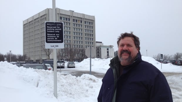 Denis Lapointe worked at the Ottawa Taxation Centre for 16 years and only found out about his asbestos exposure after he received documents through an access to information request.