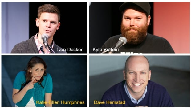 Ivan Decker, Kyle Bottom, Katie-Ellen Humphries, Dave Hemstad