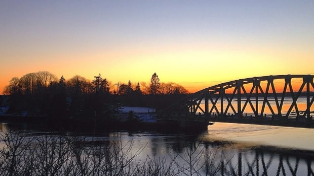 Temperatures will dip across the province tonight, including at the Port Clyde Bridge in Shelburne County.