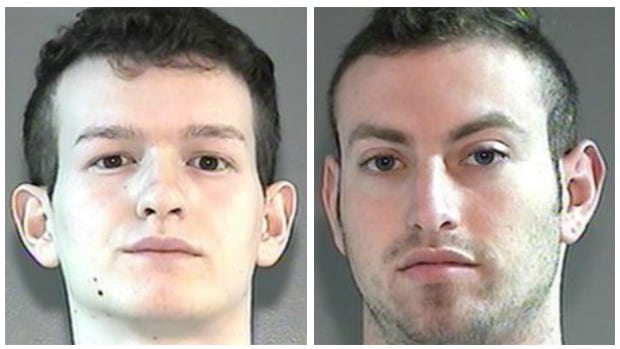 Shahin Bouziane, left, and Brodie Clements, right, have both been charged with sexual interference.