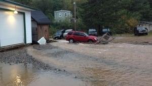 Welsford bypass flooding