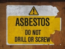 Asbestos, a tough fibrous mineral, was used in many building products before 1990 because it is resistant to fire and heat, good at absorbing sound, and cheap to use.
